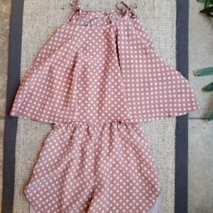 Lovers+Friends Polka Dot Romper